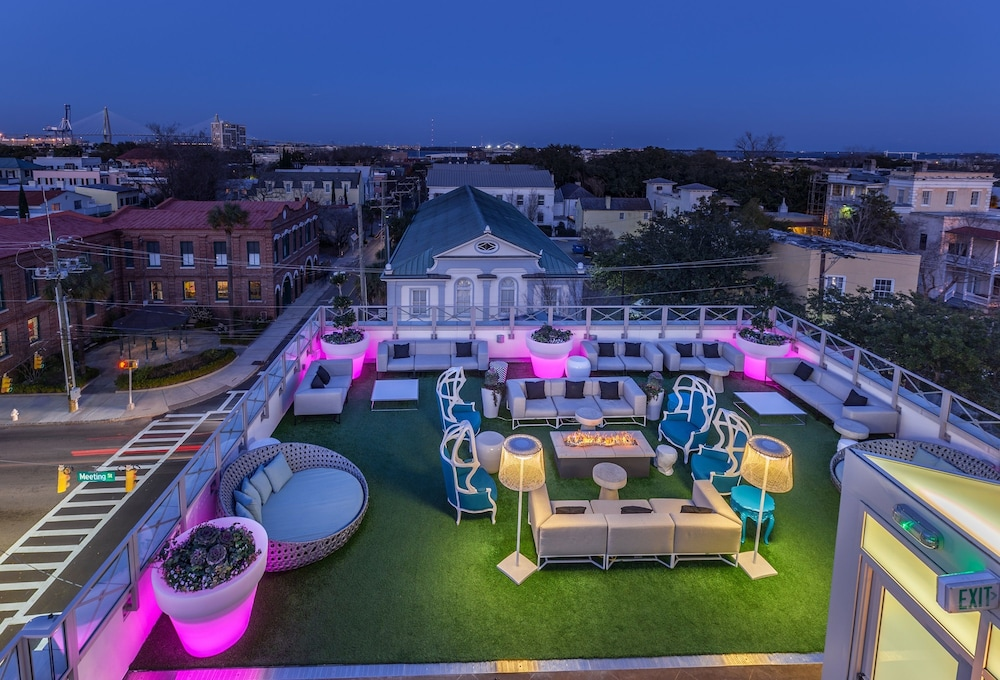 Terrace/Patio, Grand Bohemian Hotel Charleston, Autograph Collection
