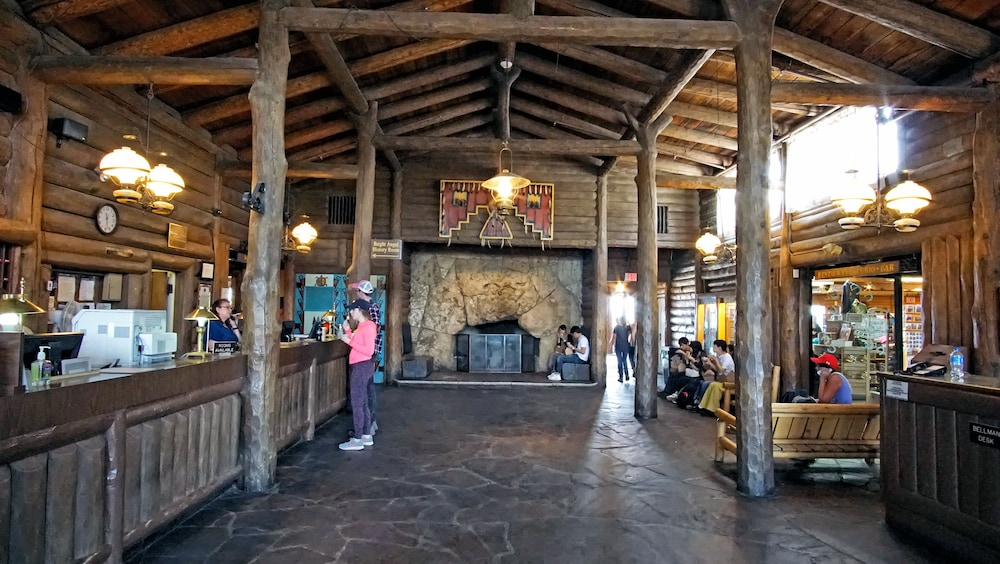 Reception, Thunderbird Lodge - Inside the Park