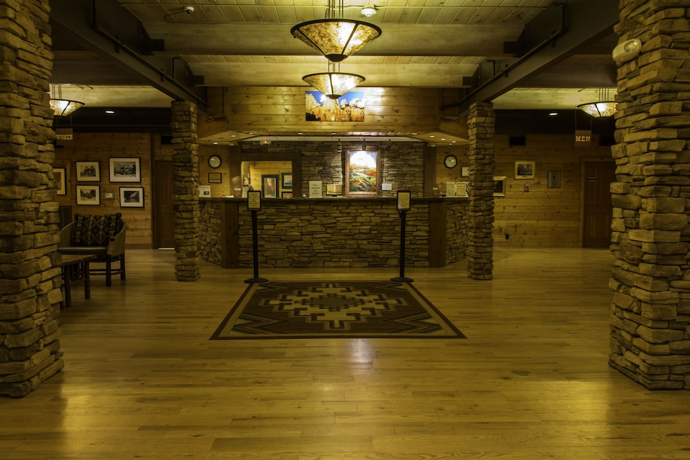 Reception, Zion Lodge - Inside The Park