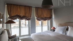 2 chambres, draps italiens Frette, literie de qualité supérieure