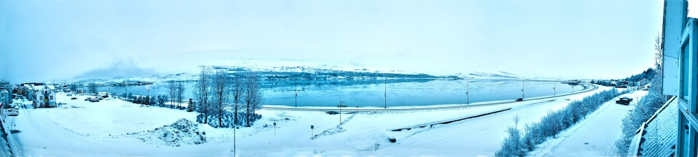 View from Room, Hotel Akureyri