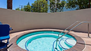 Outdoor pool, open 8:00 AM to 10:00 PM, free cabanas