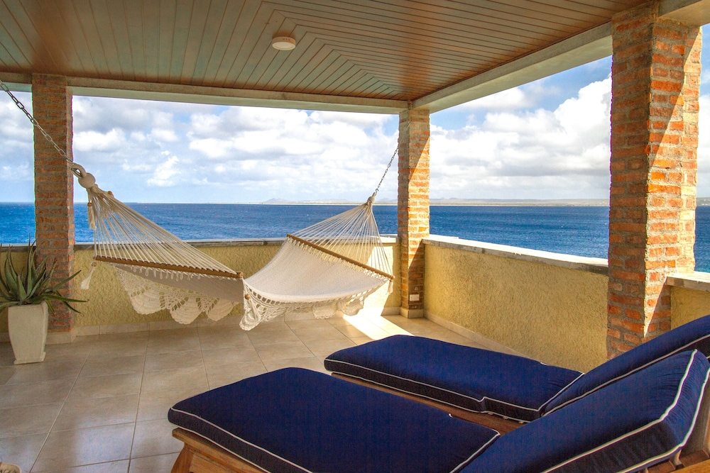 Balcony, The Bellafonte - Luxury Oceanfront Hotel