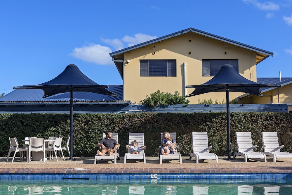 Outdoor Pool, Discovery Parks – Ballina