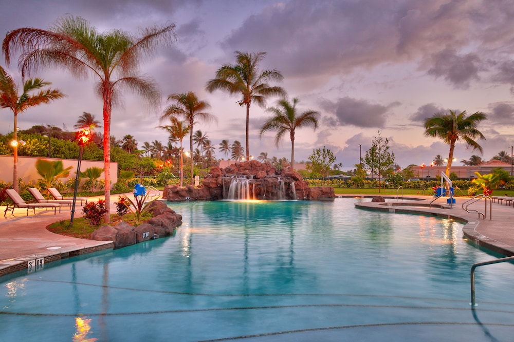 Pool Waterfall, Courtyard by Marriott Oahu North Shore