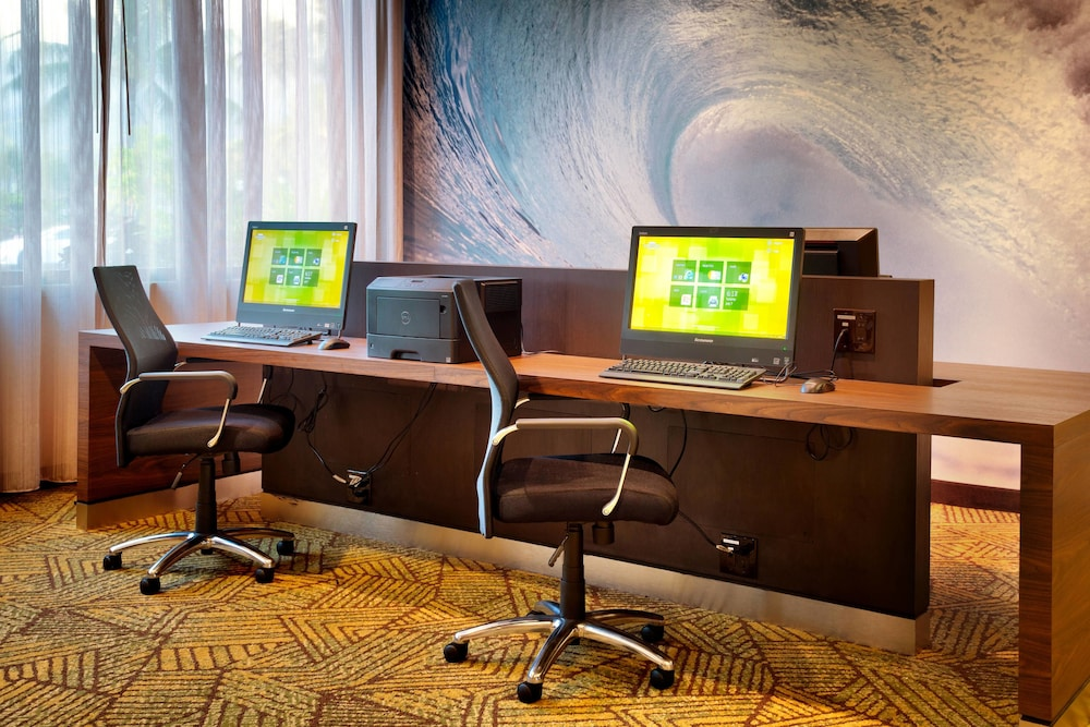 Business Center, Courtyard by Marriott Oahu North Shore