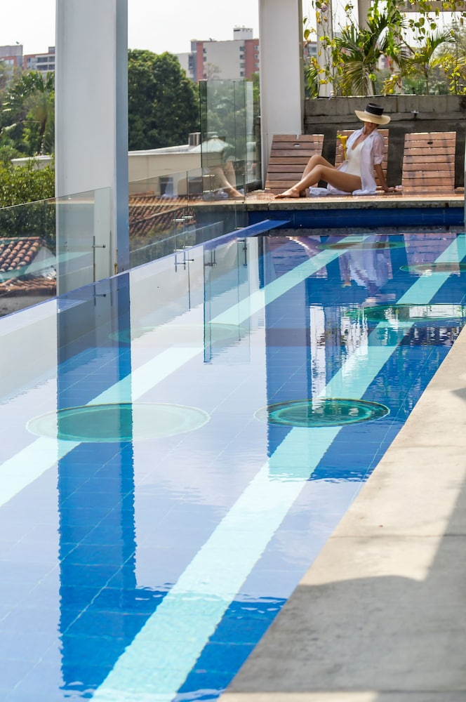Outdoor Pool, AcquaSanta Lofts Hotel