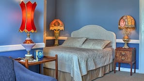 Individually decorated, individually furnished, blackout drapes