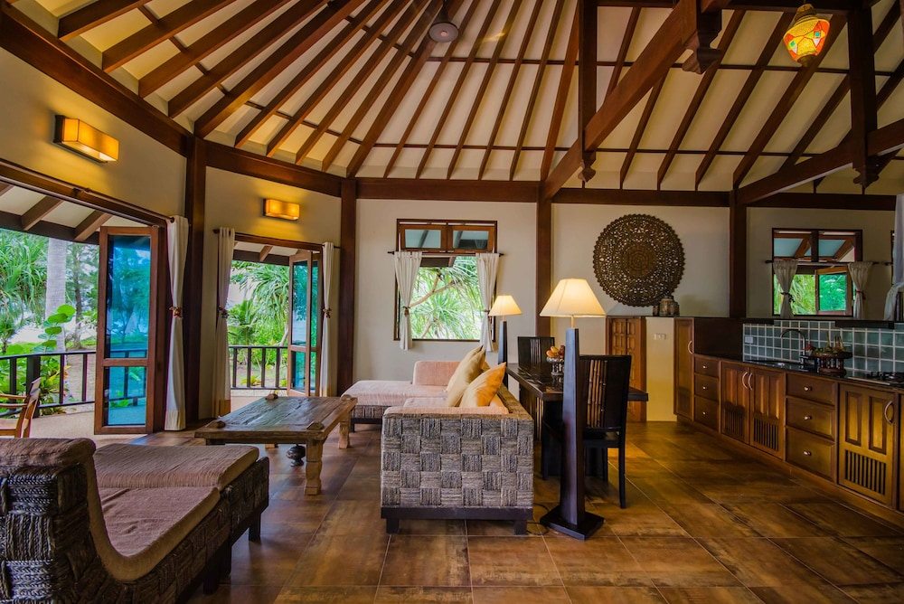 "Living Area, Koh Jum Beach Villas ""A member of Secret Retreats"""