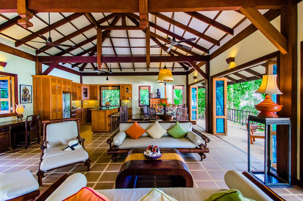 "Living Room, Koh Jum Beach Villas ""A member of Secret Retreats"""