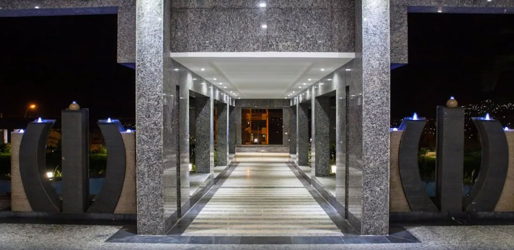 Property Entrance, Grand Legacy Hotel
