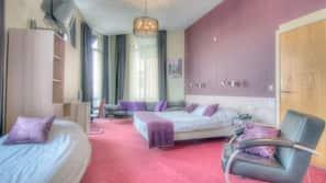 Een kluis op de kamer, babybedden, extra bedden, gratis wifi