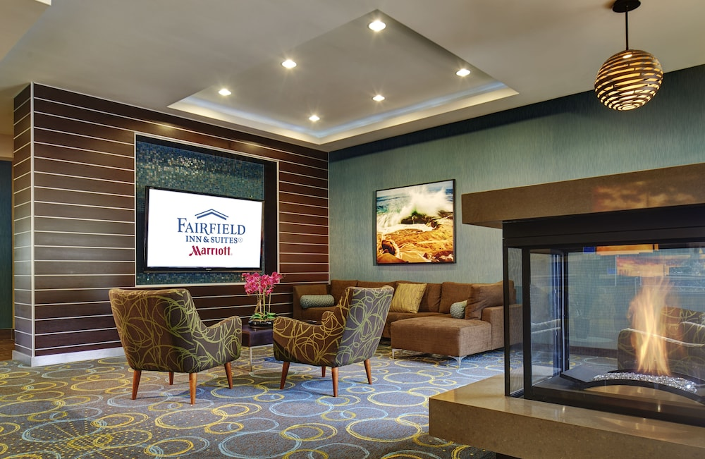 Lobby Sitting Area, Fairfield Inn & Suites San Diego Carlsbad