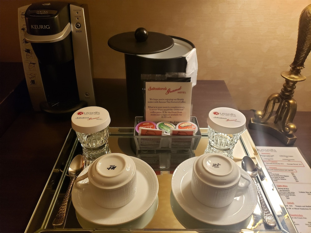 Coffee and/or Coffee Maker, Salvatores Grand Hotel