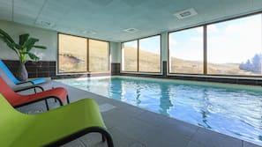 Piscine couverte, piscine chauffée