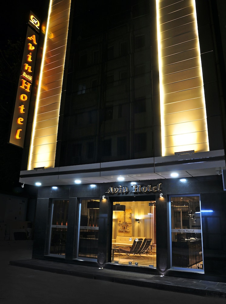 Property Entrance, Avin Hotel