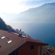 Uitzicht op meer