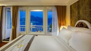 1 間臥室、高級寢具、羽絨被、記憶棉床墊