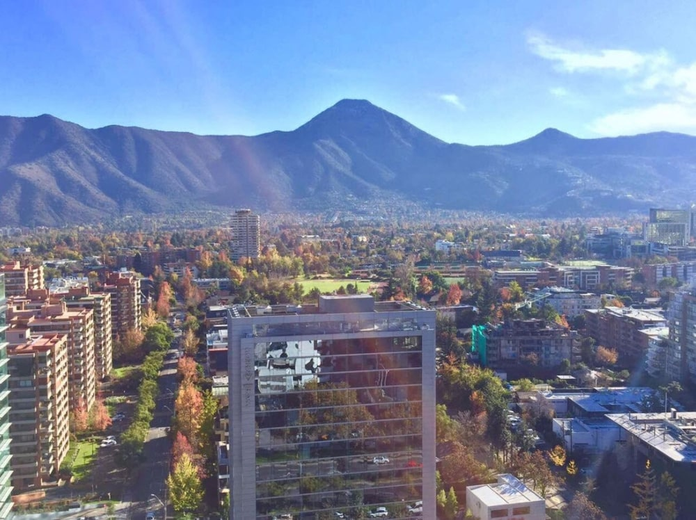 Land View from Property, Courtyard Santiago Las Condes