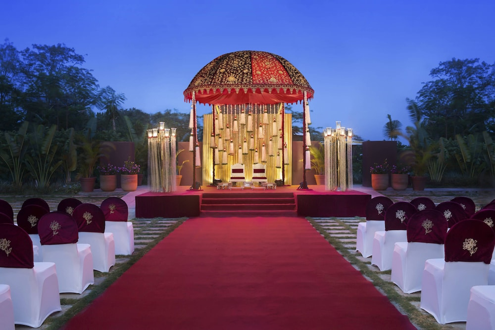 Outdoor Banquet Area, JW Marriott Mumbai Sahar