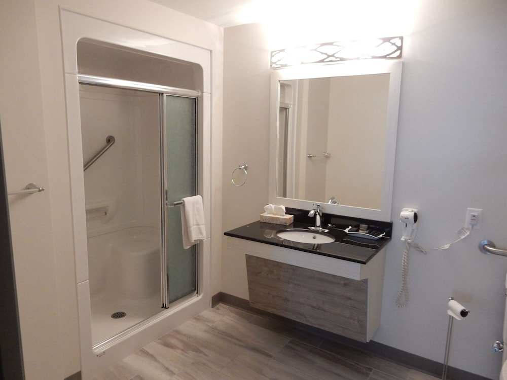 Bathroom, Danny's Hotel Suites, SureStay Collection by Best Western
