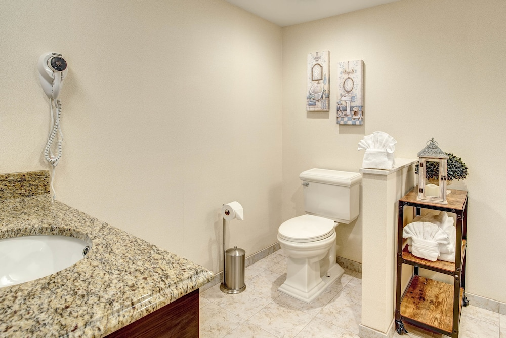 Bathroom, Days Hotel by Wyndham Toms River Jersey Shore