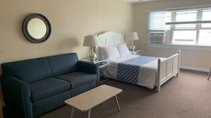 Premium bedding, individually furnished, desk, iron/ironing board