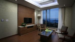 42 吋LED 電視連有線電視頻道、加熱地板