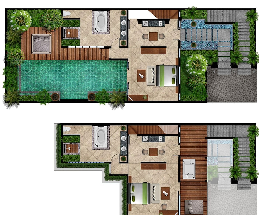 Floor plan, The Royal Purnama