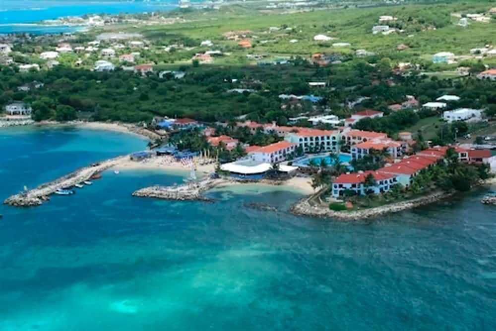 Aerial View, Northshore ApartHotel on the beach