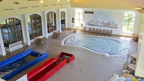 4 indoor pools