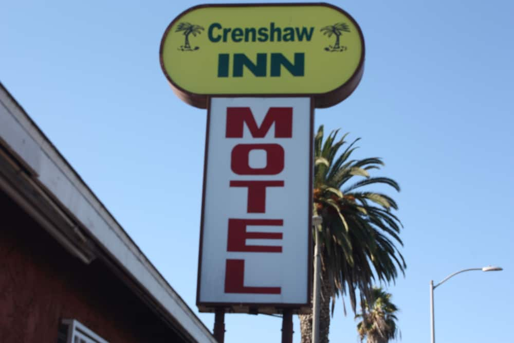 Front of Property, Crenshaw Inn Motel