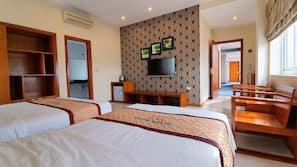 1 chambre, minibar, lits pliants/supplémentaires (en supplément)