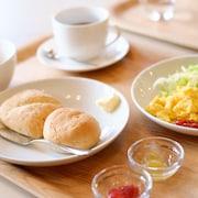 ビュッフェ式朝食