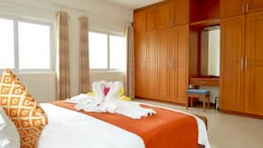 1 bedroom, in-room safe, blackout curtains, free WiFi