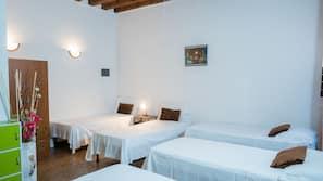Egyptian cotton sheets, individually furnished, desk, iron/ironing board