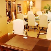 Sala de jantar (no quarto)