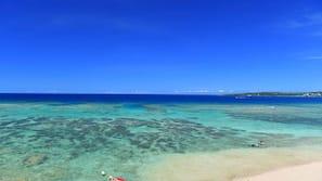 海灘、白沙、潛水、浮潛