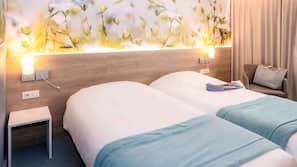 Pillowtop-Betten, kostenlose Minibar, Zimmersafe, Schreibtisch