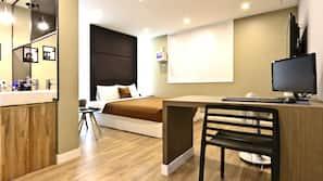 高級寢具、房內夾萬、免費 Wi-Fi、方便輪椅出入