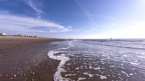 Nära stranden och strandhanddukar