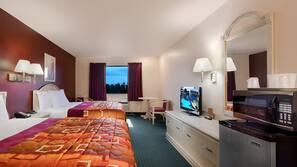 Iron/ironing board, rollaway beds, free WiFi