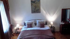 Premium bedding, minibar, desk, rollaway beds