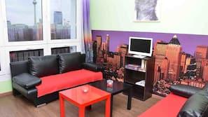 Flatskjerm-TV og PC