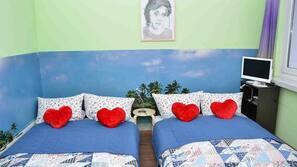 4 soverom, sengetøy av topp kvalitet og safe på rommet