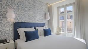 1 quarto, roupas de cama premium, frigobar, cofres nos quartos