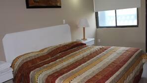 Ropa de cama de alta calidad, caja fuerte, wifi gratis