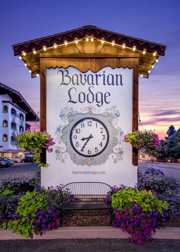 Exterior detail, Bavarian Lodge