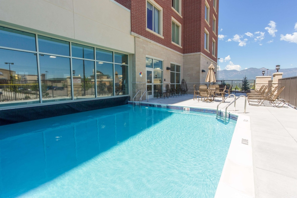 Pool, Drury Inn & Suites Colorado Springs near the Air Force Academy