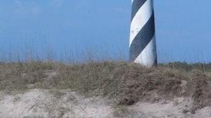 Sun loungers, beach umbrellas, windsurfing, kayaking